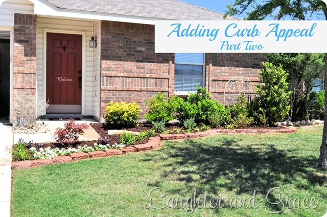 Adding Curb Appeal - Part Two